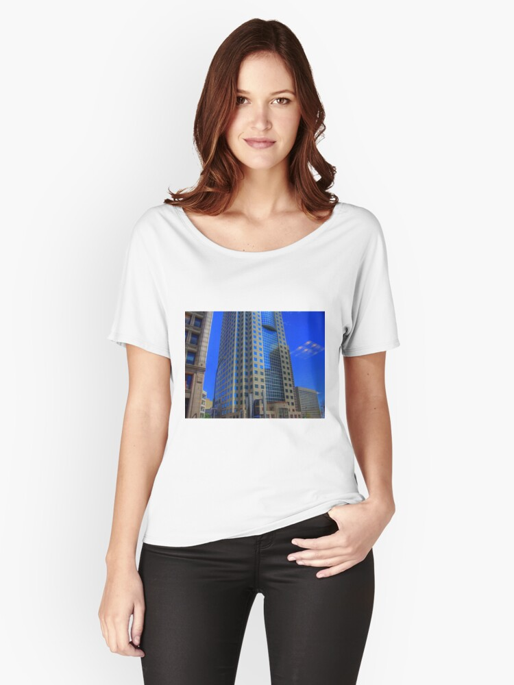 TD Bank Building Women's Relaxed Fit T-Shirt Front