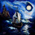 Ship in the night. by Evgenia Attia