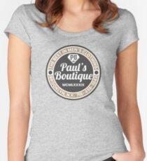 Pauls Boutique Tailliertes Rundhals-Shirt