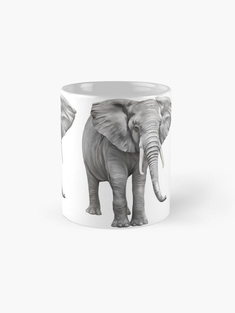 Alternate view of Large Elephant Mug