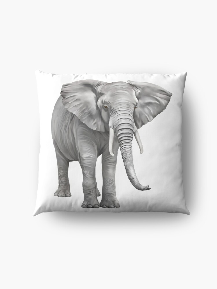 Alternate view of Large Elephant Floor Pillow
