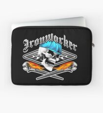 Ironworker Skull 1.0 Laptop Sleeve