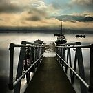 Jetty on Bassenthwaite Lake by Stevie Mancini