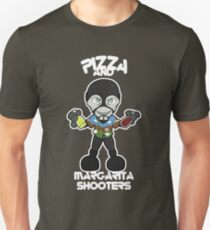 Pizza and Margarita Shooters Slim Fit T-Shirt