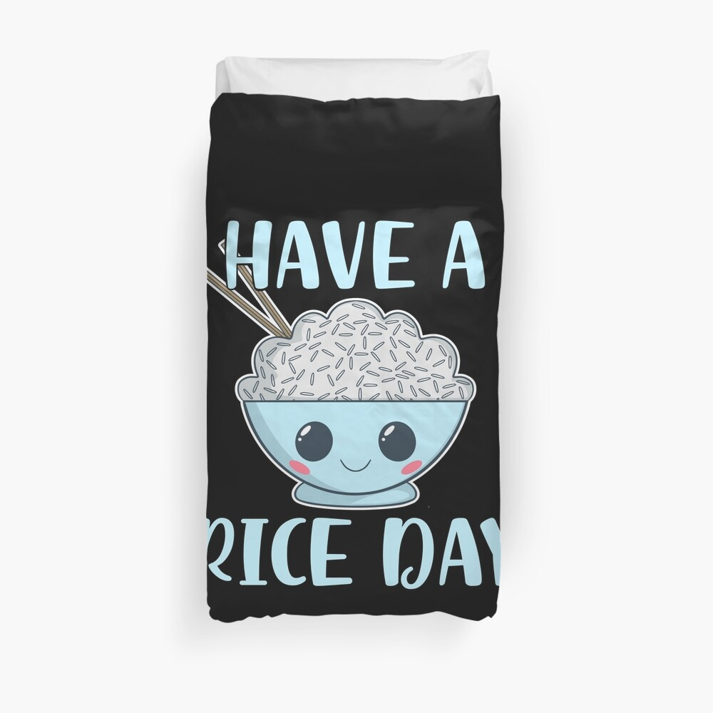 Have a Rice Day Bettbezug