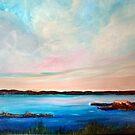 Sunset, water, sky by ElenaFineArt