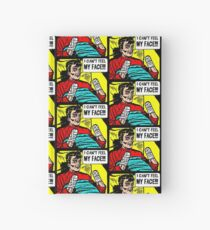 Can't Feel My Face Hardcover Journal