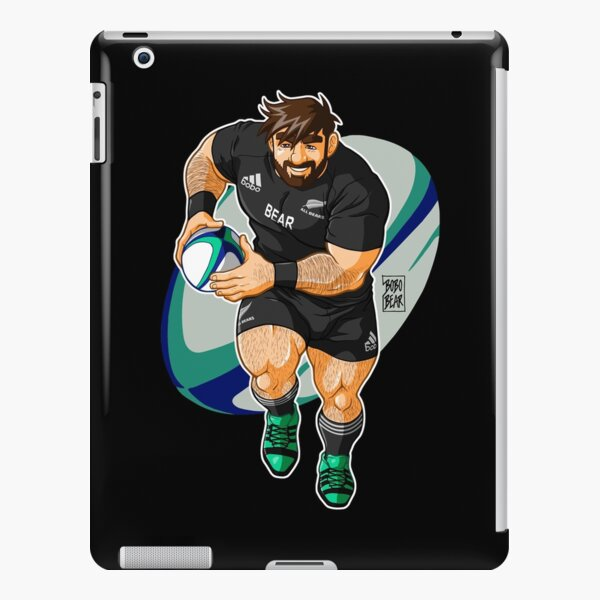 ADAM LIKES TO PLAY RUGBY - NEW ZEALAND iPad Snap Case