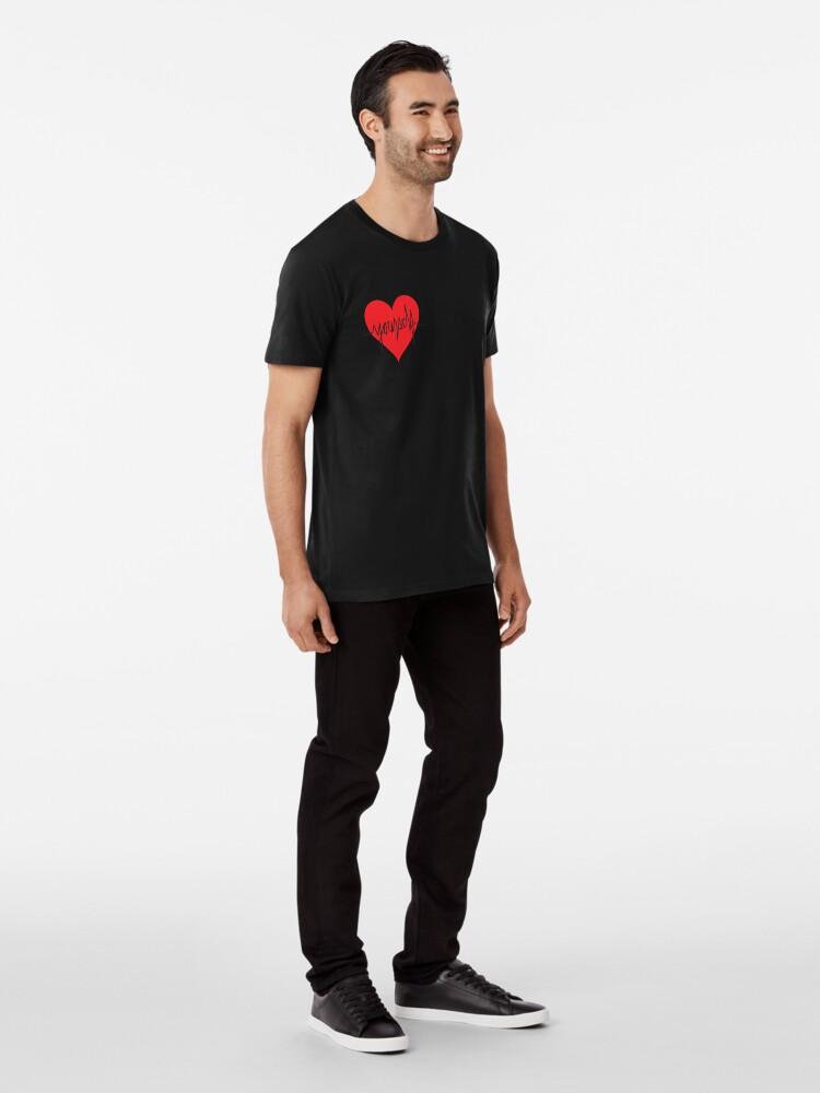 Alternate view of love yourself - zachary martin Premium T-Shirt