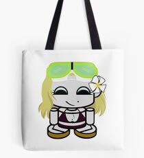 Peace, Love and Snorkeling O'bot Tote Bag