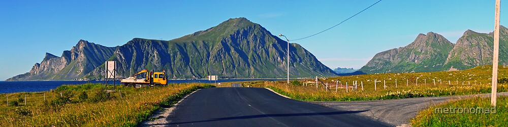 On the road in Ramberg by metronomad