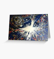 Vincent and The Doctor Greeting Card