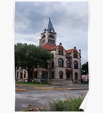 Erath county Courthouse, Stephenville Poster