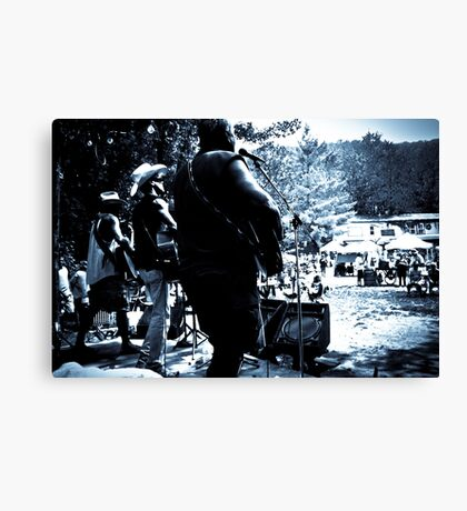 The Little Rebel Stringband- Live! Canvas Print