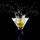 Martini Splash 01 by David Wilson