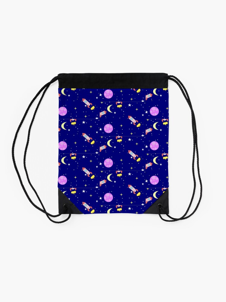 Alternate view of asteroidday Drawstring Bag