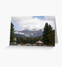 Mt. Robson, Canadian Rockies. Greeting Card