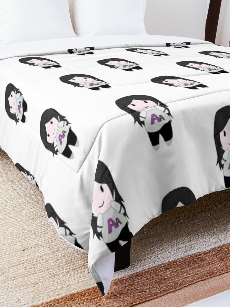 Alternate view of Autumn Asphodel Chibi Comforter