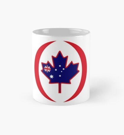 Australian Canadian Multinational Patriot Flag Series Mug