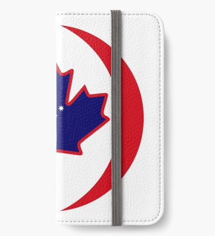 Australian Canadian Multinational Patriot Flag Series iPhone Wallet