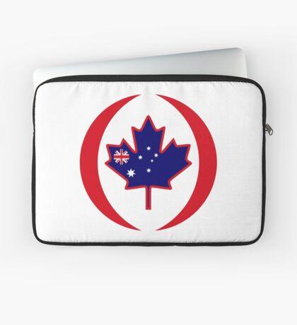 Australian Canadian Multinational Patriot Flag Series Laptop Sleeve