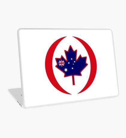 Australian Canadian Multinational Patriot Flag Series Laptop Skin