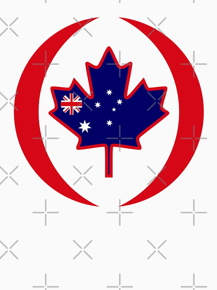 Australian Canadian Multinational Patriot Flag Series by carbonfibreme