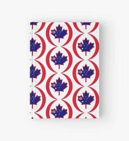 Australian Canadian Multinational Patriot Flag Series Hardcover Journal