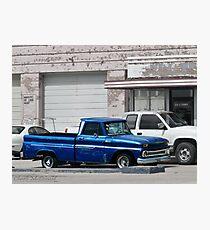Ol' Blue Photographic Print