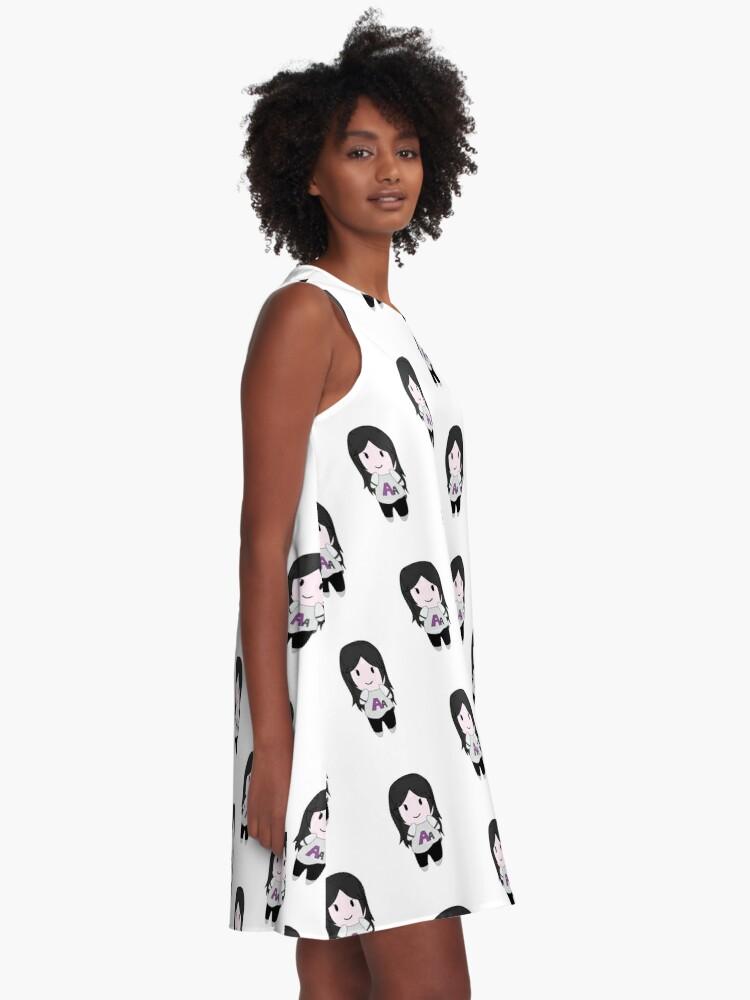 Alternate view of Autumn Asphodel Chibi A-Line Dress