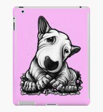 Netter Welpen-Bullterrier iPad-Hülle & Klebefolie