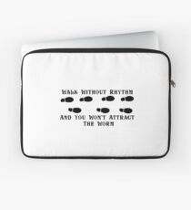 Walk Without Rhythm Laptop Sleeve