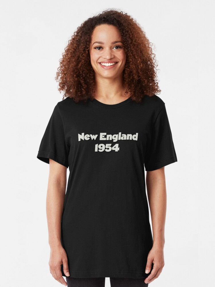 Alternate view of Clue   New England 1954 Slim Fit T-Shirt