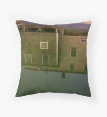 Saltwater swimming pool Throw Pillow