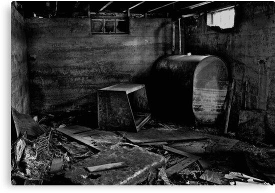 Under the house by Jeffrey  Sinnock