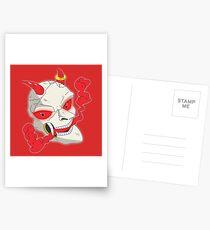 Reaper's Skull (Red Eyes) Postcards