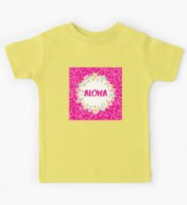 Aloha floral Kinder T-Shirt