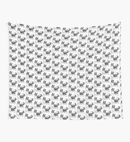 Border Collie Wall Tapestry