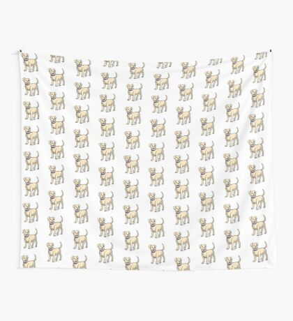 Yellow Lab Wall Tapestry