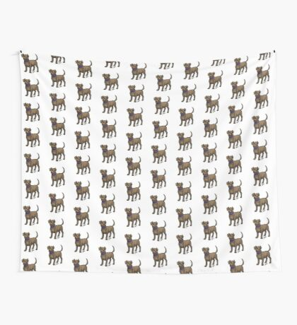 Chocolate Lab Wall Tapestry