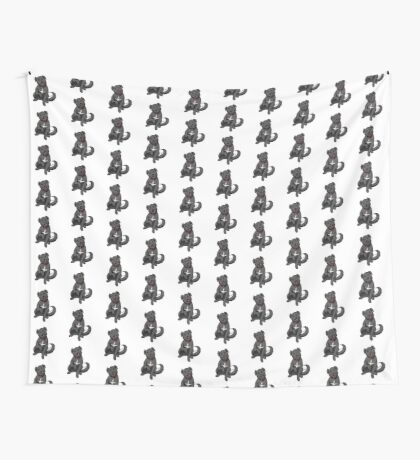 Lab Mix Wall Tapestry