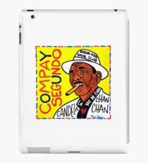 Compay Segundo Pop Folk Art iPad Case/Skin