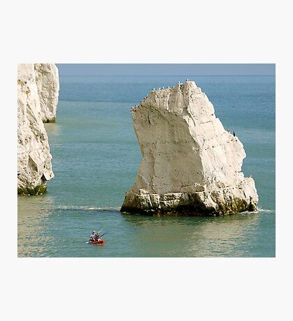 Kayak  at Splash Point Photographic Print