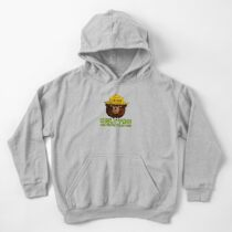 Smokey The Bear: Only You Kids Pullover Hoodie