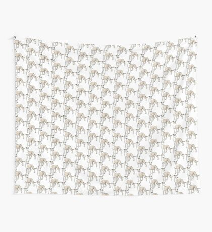 Whippet Wall Tapestry