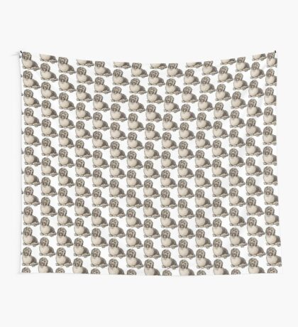 Havanese Dog Wall Tapestry