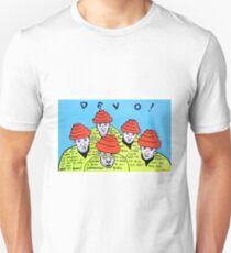 Are we not men! We are DEVO! -  Pop folk art  Unisex T-Shirt