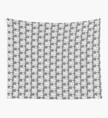 Maltese - Show Cut Wall Tapestry