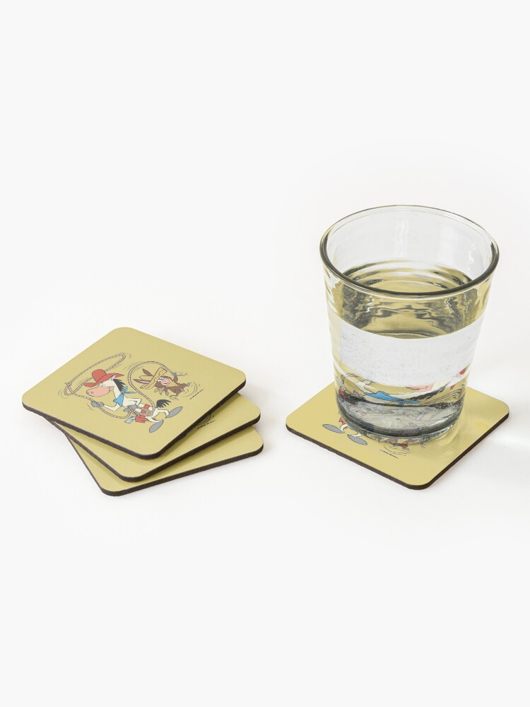 Alternate view of Quick Draw McGraw & Baba Looey: Ropin' Coasters (Set of 4)