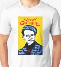 Woody Guthrie Folk Art T-Shirt